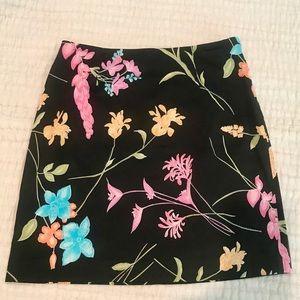 Spenser Jeremy Petites Gorgeous Floral Skirt EUC